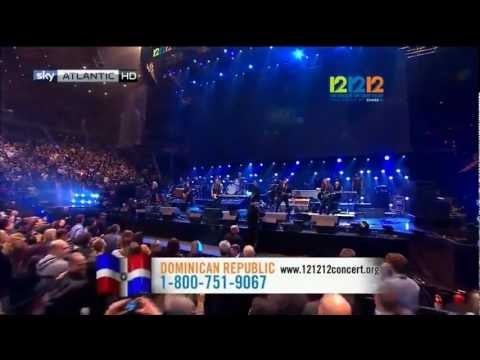 Bruce Springsteen & the E-Street band - 12.12.12 Sandy Relief Concert pt.1
