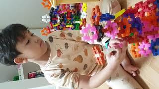 꼬마사각블록으로 슈퍼로봇 만들기 2탄(2020.10.1…
