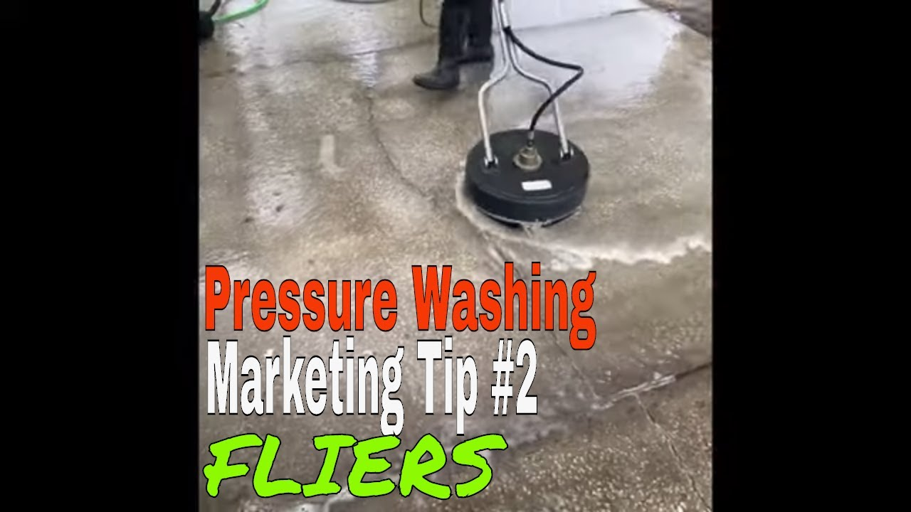 Pressure Talk-Pressure Washing Marketing Tips #2- FLIERS⬅️