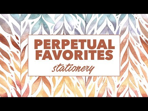 My perpetual favorites | Stationery