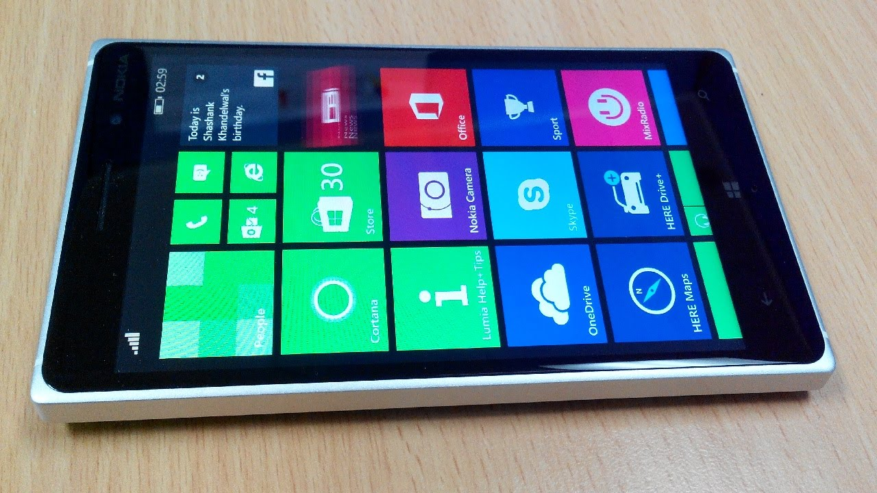 Lumia 735 Unboxing and Hands-on Impressions : My Nokia