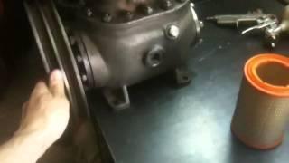 строим компрессор на базе ФВ-6.часть 1.