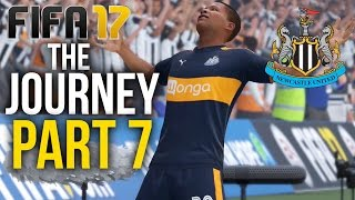 FIFA 17 THE JOURNEY Gameplay Walkthrough Part 7 - IMPORTANT GOAL (Newcastle) #Fifa17