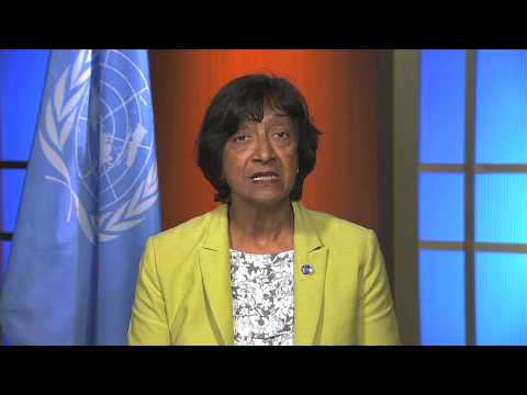 Navi Pillay, UN High Commisioner for Human Rights
