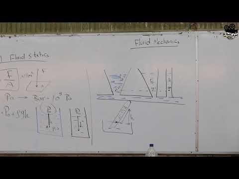 Lecture 6 - Fluid Mechanics - part 1