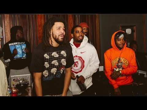 FULL Recording Sessions of ROTD3 with《 j.cole JID ski mask reason youngNudy earthgang Bas taykeith》☣