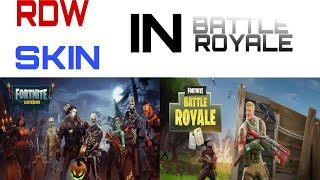 Fehler dans Fortnite RDW Skin In Battle Royale