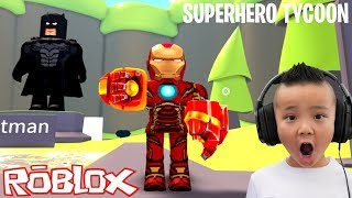 The BEST Superhero Tycoon Roblox Game With CKN Gaming