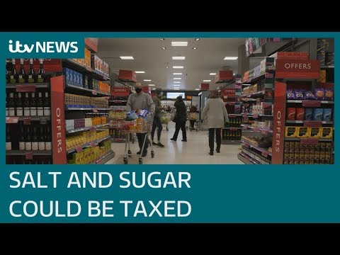 World's first salt and sugar tax could be introduced in England   ITV News