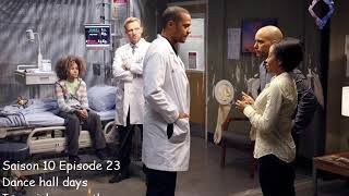 Greys anatomy S10E23 - Dance hall days - Imperial Mammoth YouTube Videos