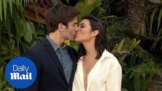 Ashley Iaconetti & Jared Haibon kiss at Jurassic World Premiere - Daily Mail