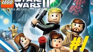 LEGO StarWars II: The Original Trilogy - Part 1 (Playthrough/Walkthrough)
