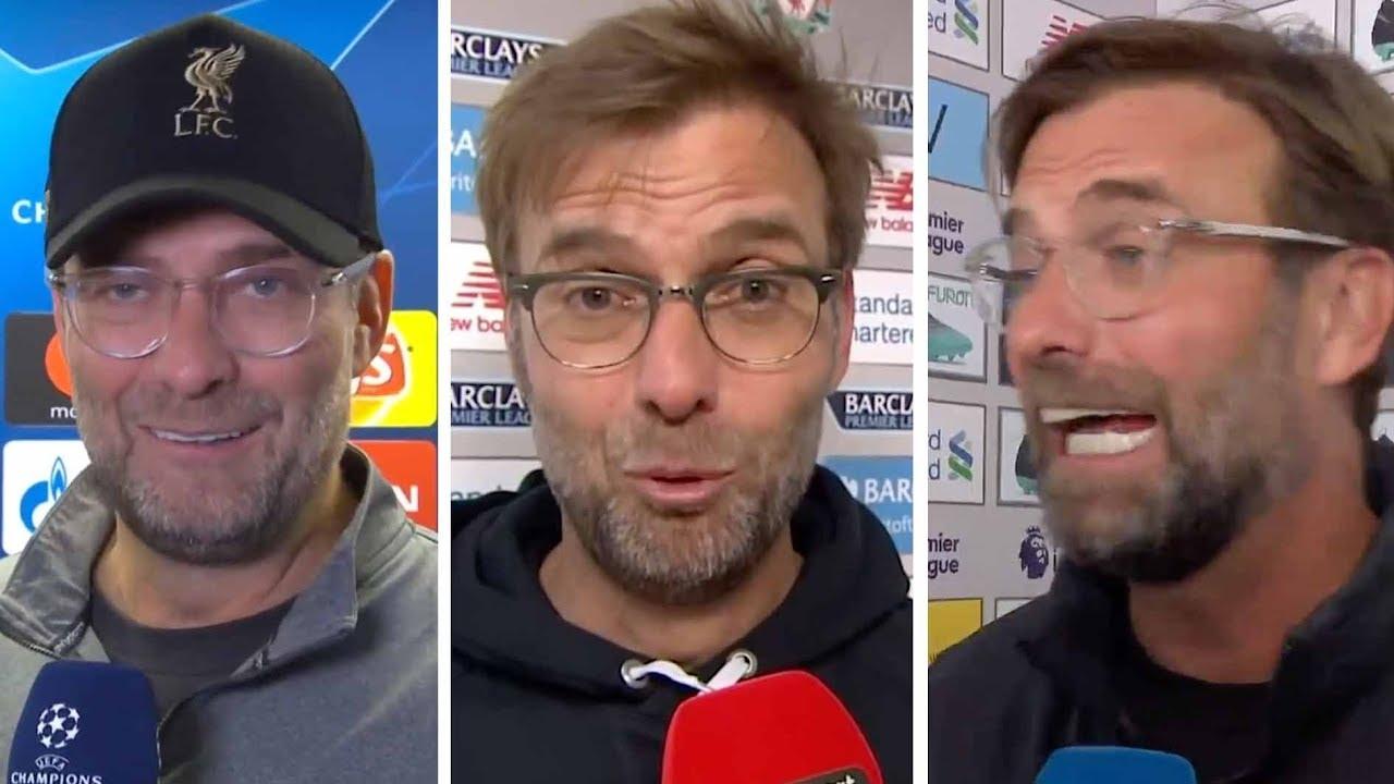 """BOOM!"" ""ADRIAAN!"" Jürgen Klopp's funniest interview lines as Liverpool manager"