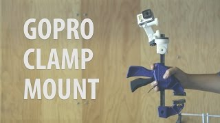 3d Printed Gopro Clamp Mount