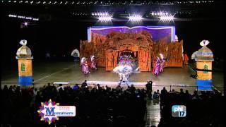 Golden Crown Fancy Brigade - 2015 Mummers Parade - Philadelphia Mummers