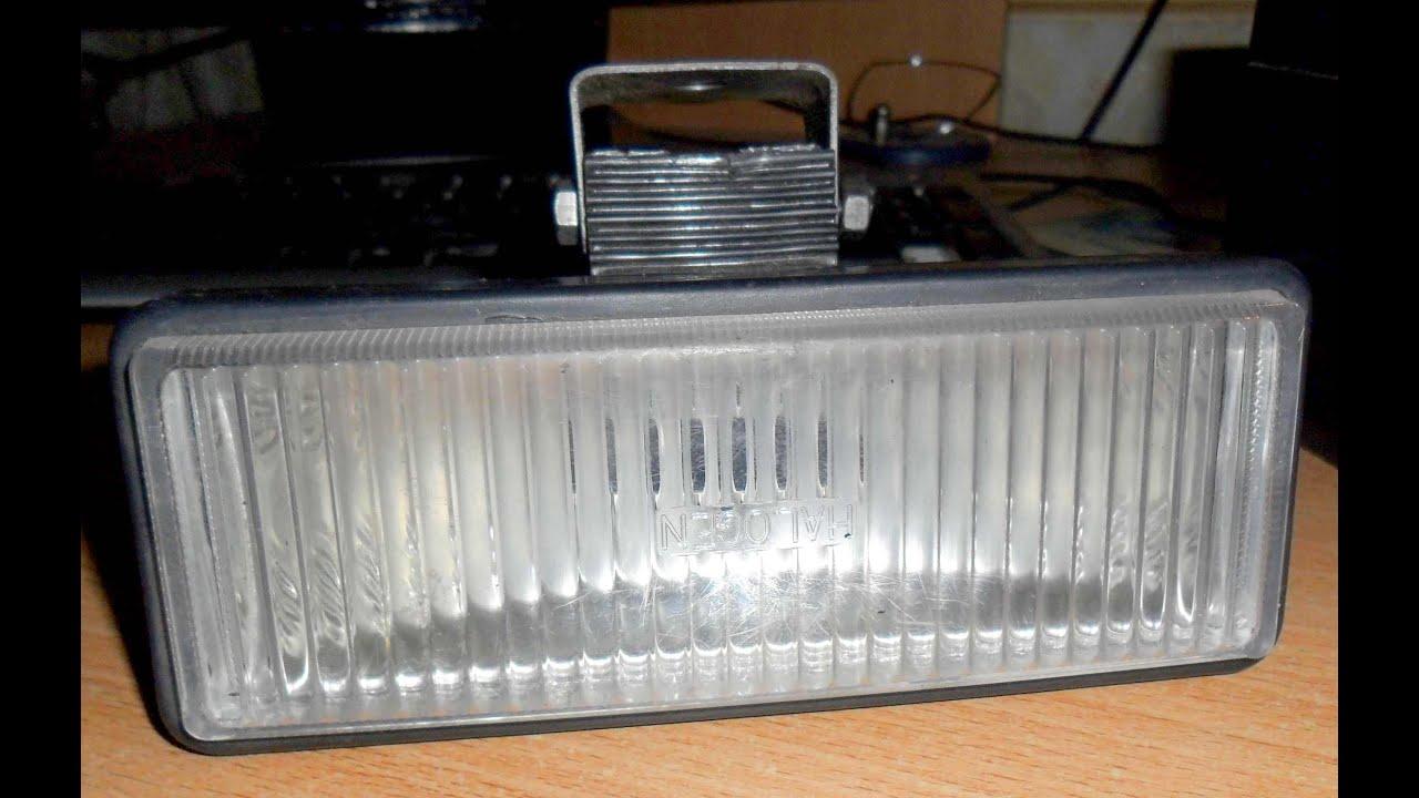 Установка светодиодной полосы в фары BOSH ВАЗ 2110 - YouTube