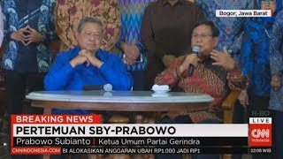 Download Video FULL Breaking News! Konpers Pertemuan SBY & Prabowo di Cikeas MP3 3GP MP4