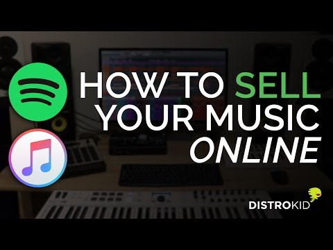 How To Sell Your Music On Spotify, iTunes and Apple Music (DistroKid)