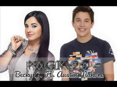 How long have becky g and austin mahone been dating