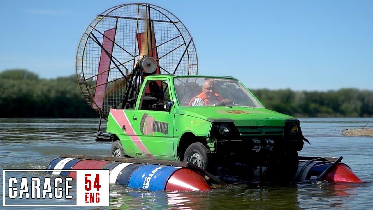 "Our amphibious ""aero-Oka"" – first launch"
