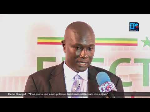 Defar Senegal : Nous avons une vision politique totalement différente des autres