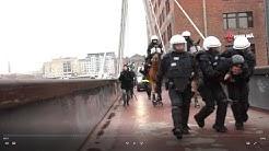 171021 Antifantti kokee lentävänsä SVL:n mielenosoituksessa Tampereella