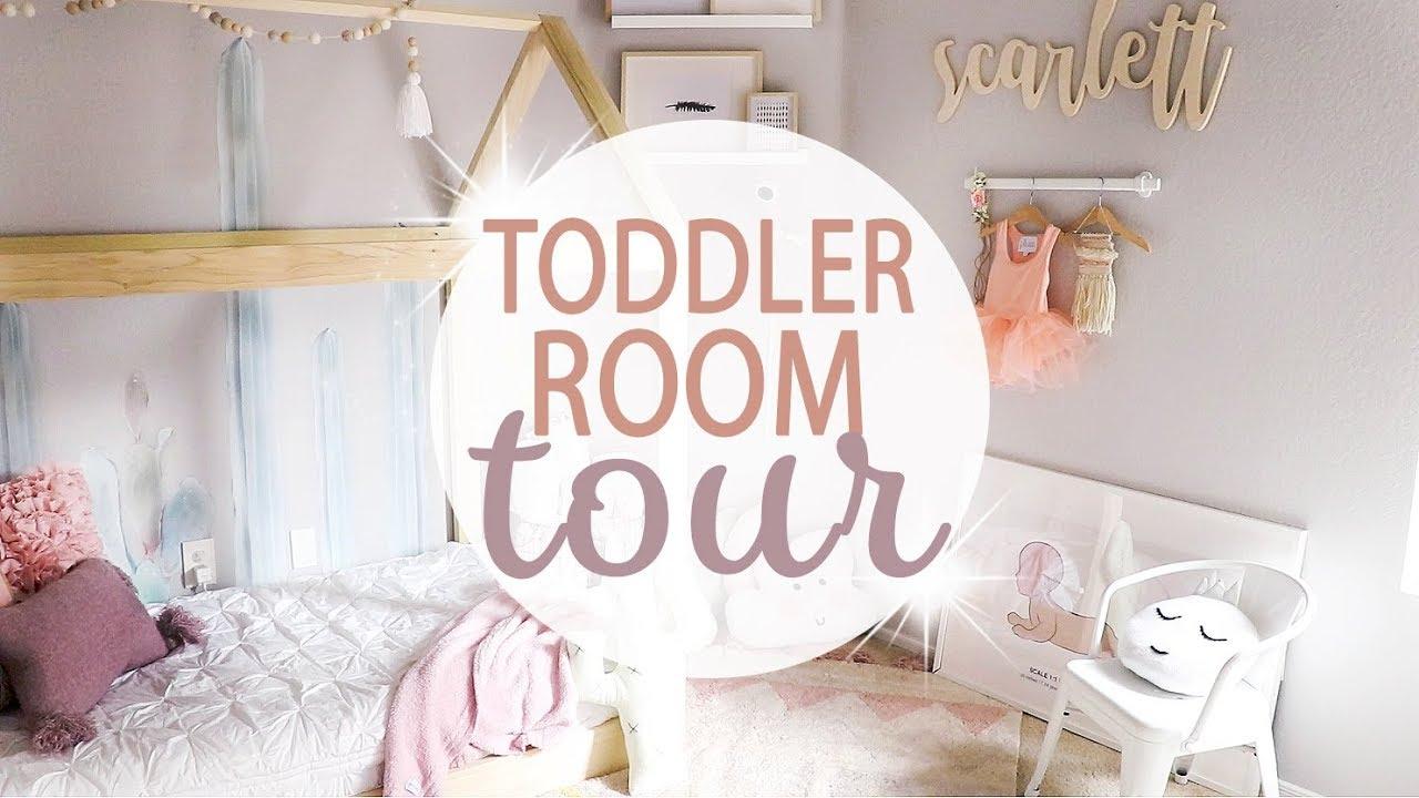 Toddler Room Tour 2018 Toddler Girl Room