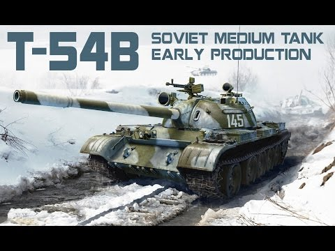 T-54 B SOVIET MEDIUM TANK Early Production by MiniArt (37011)