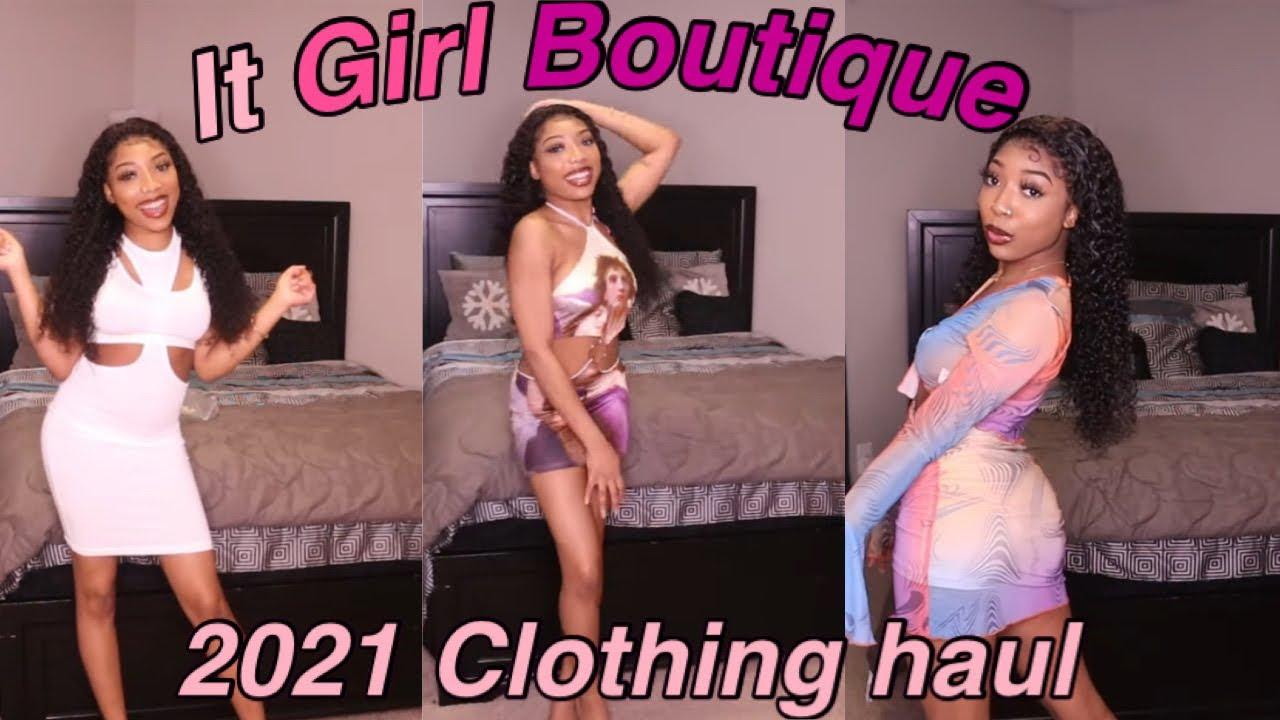 2021 It Girl Boutique haul✨  Shalaya Dae