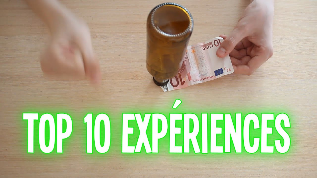 Top 10 exp riences faire la maison partie 1 youtube - Creation a faire a la maison ...