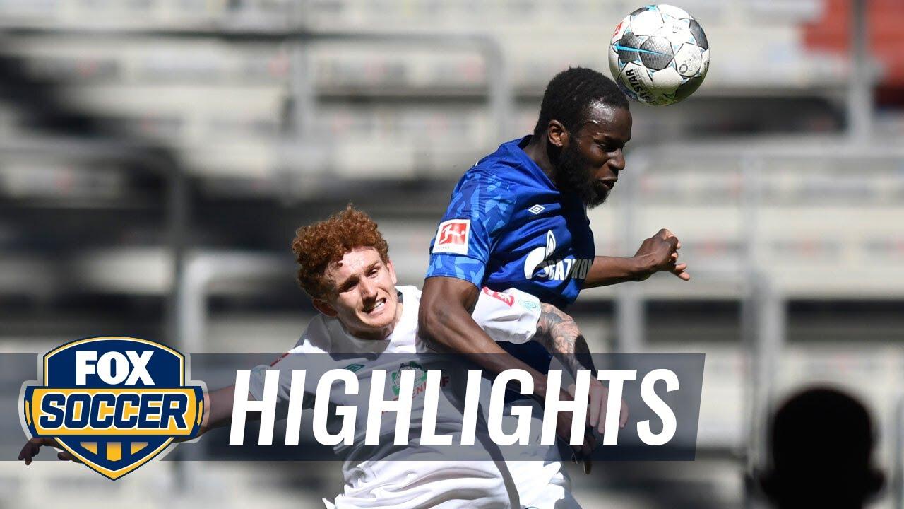 Schalke 04 0 - 1 Werder Bremen