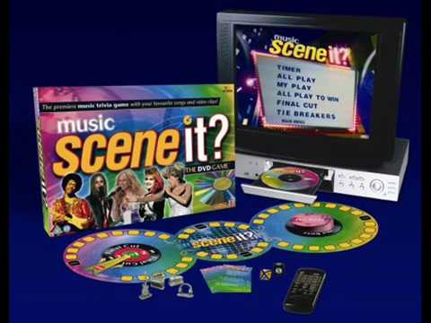 Music Scene It The Dvd Game Main Menu Youtube