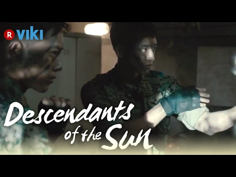 descendants-of-the-sun---ep1-|-north-korean-&-south-korean-soldiers-fight-[eng-sub]
