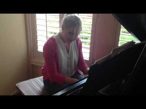 Cheers theme music on Piano