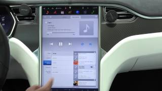 Tesla Model X and S - Media Player Function Explained and A Bug