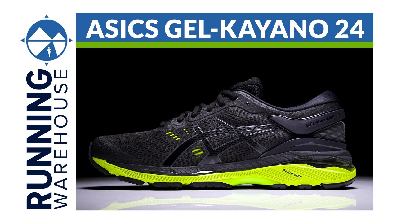 First Look: Asics Gel Kayano 24. Running Warehouse