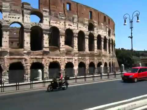 Driving to Coliseum