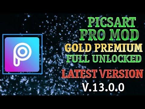 [NEW] Picsart Pro Mod Gold Premium Full Unlocked (v.13.0.0) | Download Picsart Premium Unlocked Apk