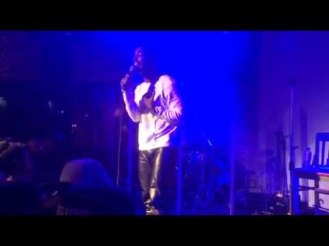 """Luke James performs """"Exit Wounds"""" at SOB's NYC - 9/23/14"""