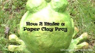 צפרדע מעיסת נייר