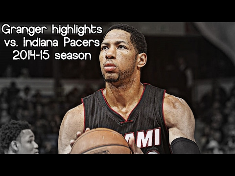 Danny Granger 14 pts & 3 reb @ his former Pacers (NBA RS 2014/2015) - Return In INDIANA!