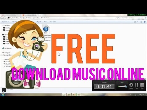 How To Download Music Online For FREE (No Programs, No Sign Ups, etc)