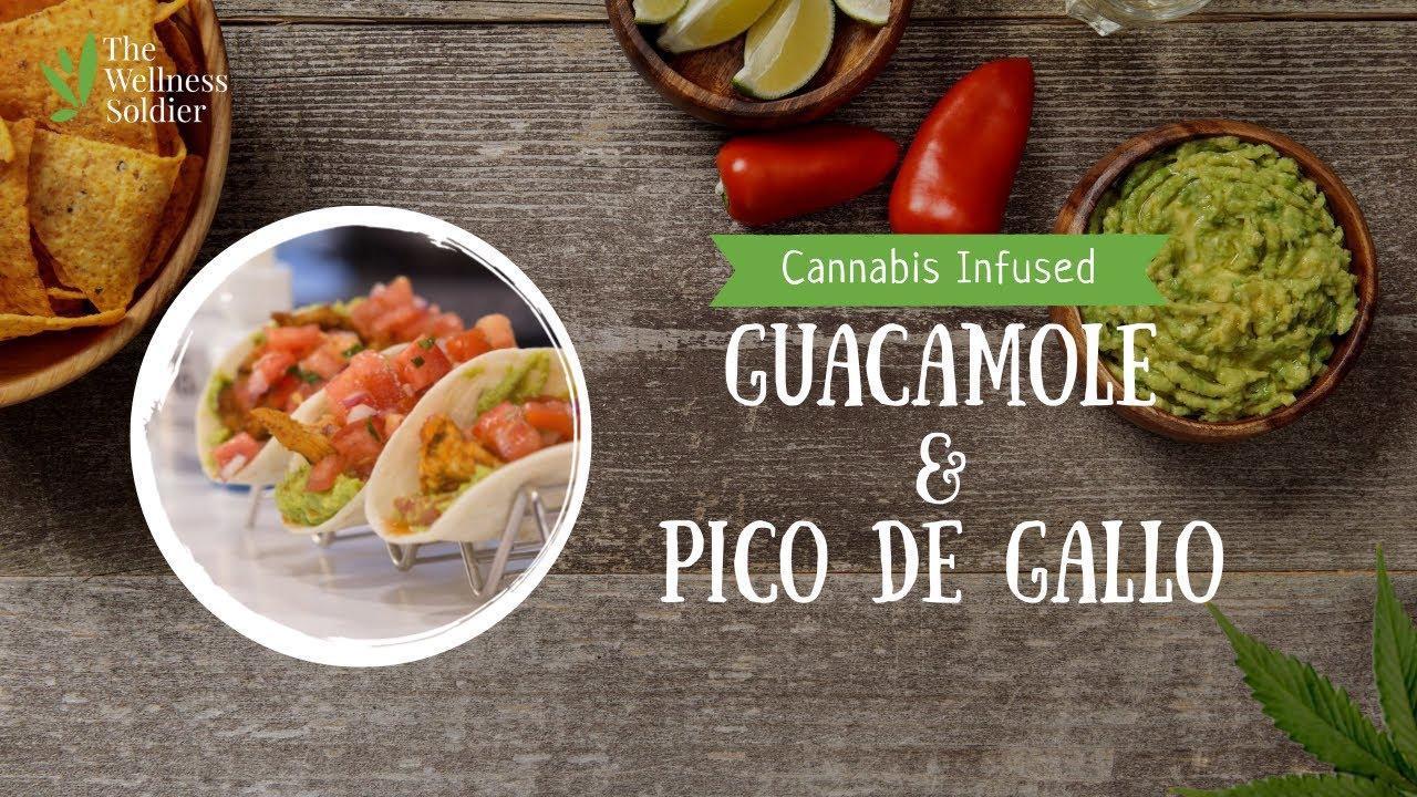 Cannabis Infused Tacos w/ Infused Pico de Gallo & Guacamole