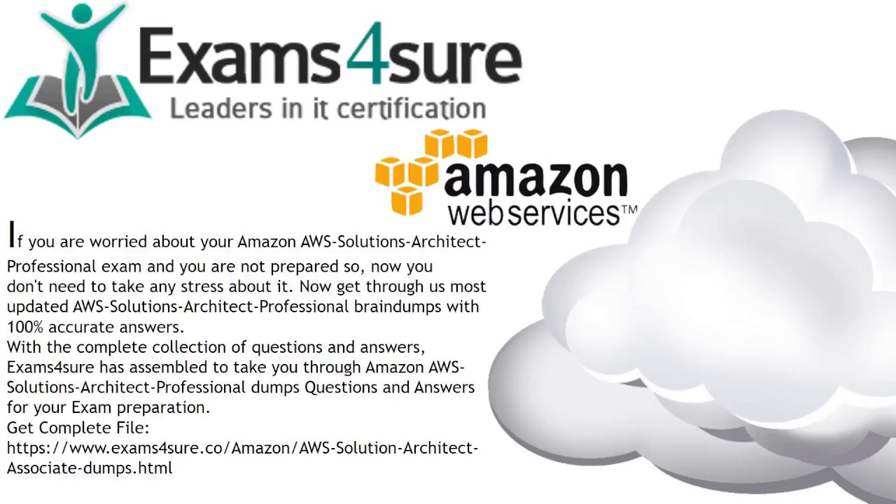 Aws solution architect associate dumps with 100 passing guarantee aws solution architect associate dumps with 100 passing guarantee xflitez Gallery