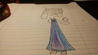 How I draw toriel if she was evil.....