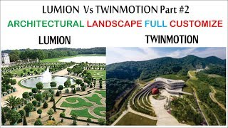 twinmotion 2019 vs lumion 8 video, twinmotion 2019 vs lumion