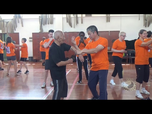 Chi Sau with Grandmaster Ip Chun pt9
