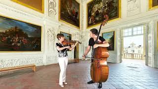 Karolina Radovani & Daniel Nix: J. S. Bach - Allegro from Concerto BWV 1060R, arr. M. Harvey