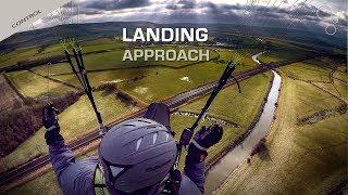 Paraglider Landing Setup For XC Flying