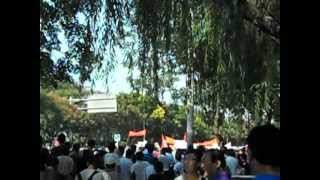 2012.9.16北京・日本大使館の近く 1
